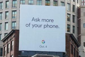 Google объявила дату анонса смартфонов Pixel 2″