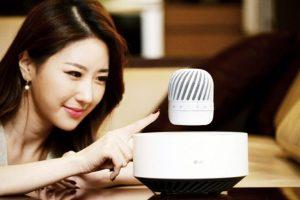 LG представила парящий Bluetooth-динамик»