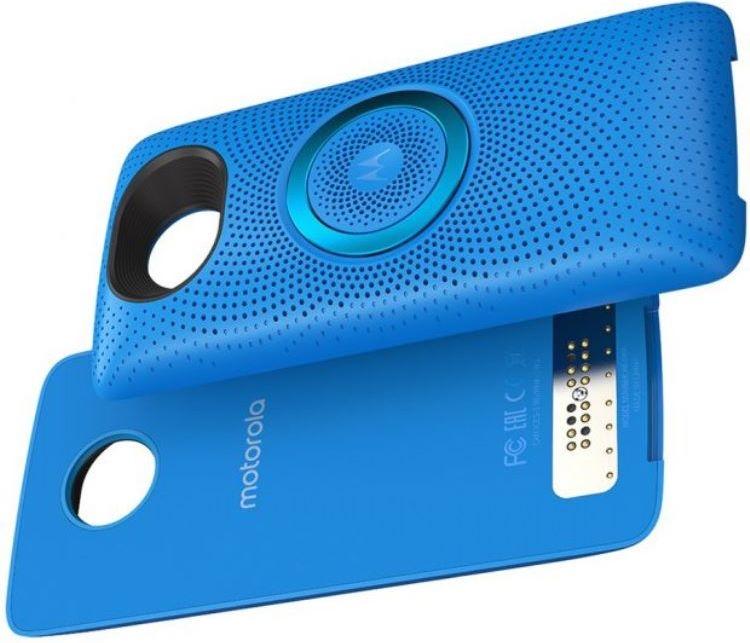 Модульный динамикMoto Stereo Speaker для смартфонов Moto Z поступил в продажу»