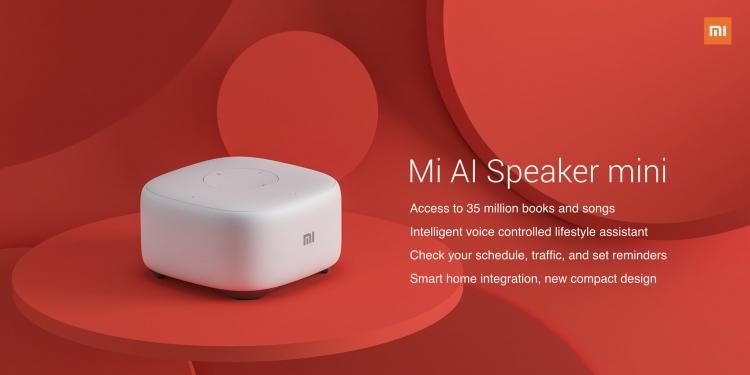 Xiaomi Mi AI Mini: компактная акустика для дома с набором голосовых функций»