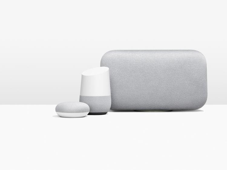 Google продала более 6 млн «умных» колонок Home с середины октября»