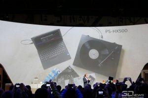 CES 2016: Sony PS-HX500 — виниловый проигрыватель с USB-портом»